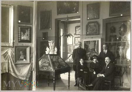 Członkowie Komitetu Wystawy w Mińsku 1916