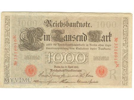 Duże zdjęcie 1000 MAREK 1910