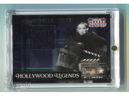 Marlene Dietrich fragment płaszcza aktorki nr 248