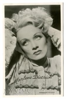 Marlene Dietrich Uitg. R. V. Dongen pocztówka