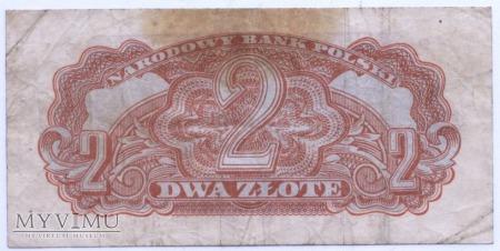 """2 złote - 1944 (""""obowiązkowym"""")"""