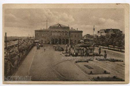 Poznań lata 20-te - Dworzec Główny
