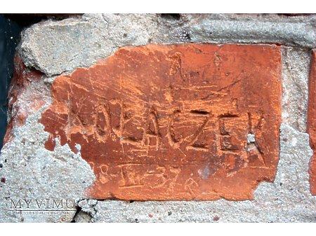 """Duże zdjęcie """"Stara Prochownia"""" - budynek A - inskrypcja #016"""