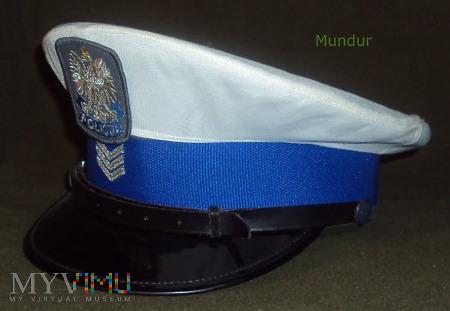 Czapka sierżanta sztabowego Policji