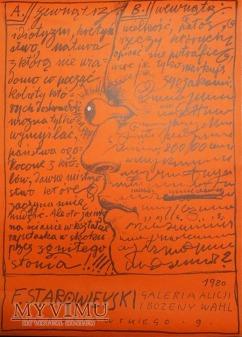 Franciszek Starowieyski, wystawa w galerii Wahl