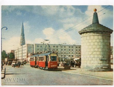 Warszawa - Trasa W-Z - Gruba Kaśka - 1960