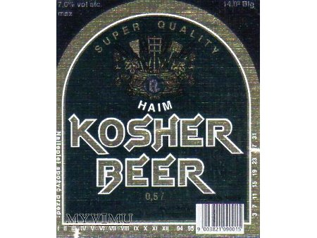 Etykieta KOSHER 27