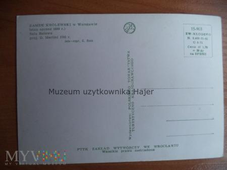 WARSZAWA Zamek Królewski (stan sprzed 1939 r.)