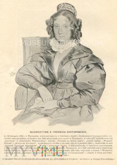 Hoffmanowa Klementyna - pedagog, dramatopisarka