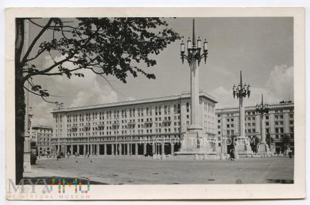 W-wa - ul. Marszałkowska MDM - 1955
