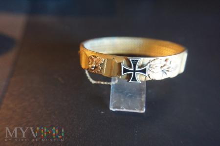 Pierścień artyleryjski - pamiątka z I Wojny