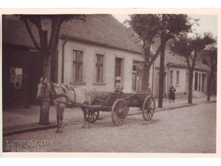 Jedna z ulic Wągrowca