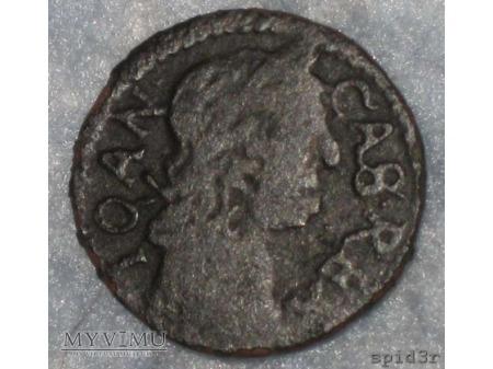 szeląg koronny 1664 19