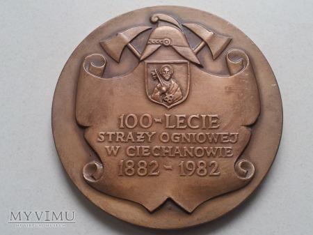 100 - lecie Straży Ogniowej w Ciechanowie