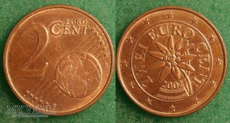 2 EURO CENT 2002