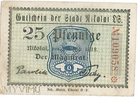 Notgeld- mikołowski pieniądz zastepczy