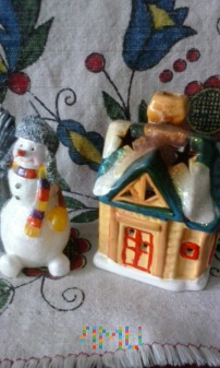 Śnieżny Bałwanek i Domek !