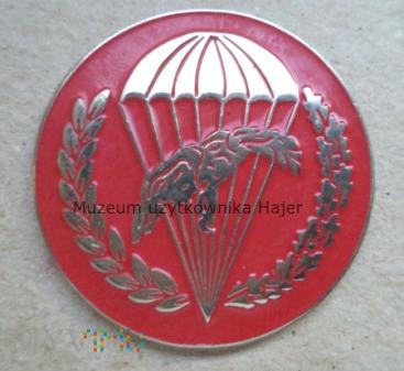 Odznaka spadochronowa WPD 6 PDPD czerwona matowa