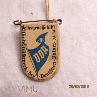 Volksgenosse-odznaka WHW