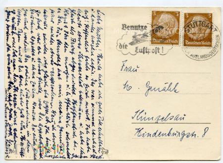 Pocztówka okolicznościowa - 1942