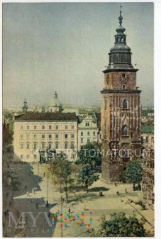 Kraków - Rynek - Ratusz - 1957