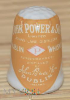 Naparstek reklamowy -Power whisky