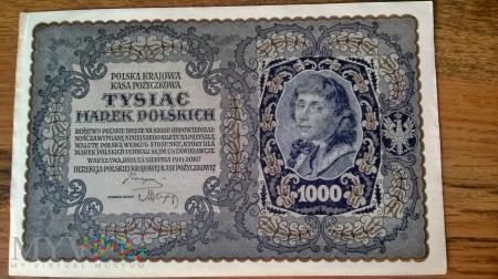 1000 Marek Polskich 1919r.