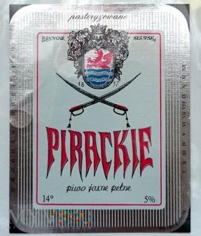 Brok, Pirackie