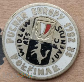 Widzew Łódź 22 - Puchar Europy 82-83 - biała