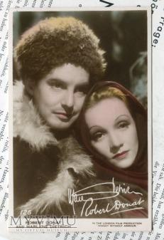 Marlene Dietrich Art Photo Postcard nr 125
