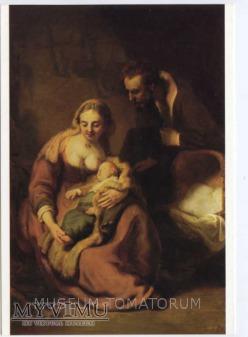 Rembrandt - Macierzyństwo sakralne