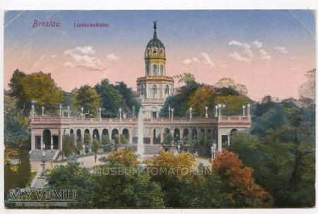 Wrocław Breslau - Wzgórze Partyzantów -1920