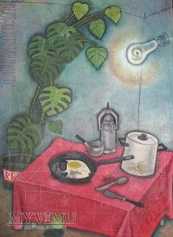 Karol Wieczorek - Martwa natura ze stołem