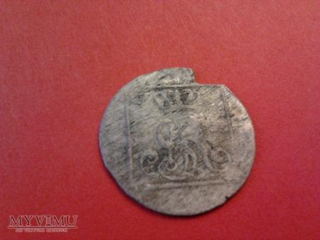 1 grosz srebrny SAP 1767.