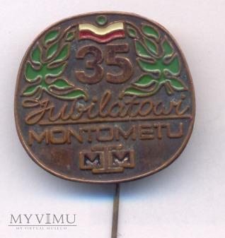 Montomet - odznaka dla jubilata