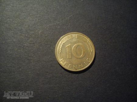 10 Pfennig - 1987r, RFN