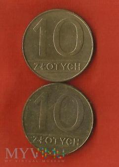 Polska 10 złotych, /1989/1990