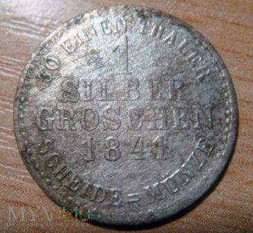 1 Silber Groschen 1841 - Elektorat Hesji