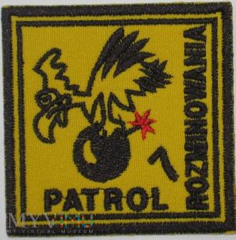 Patrol rozminowania nr 7. Nisko.