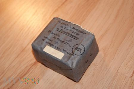 10 Keimfreie Mullstreifen - Prasowane kompresy