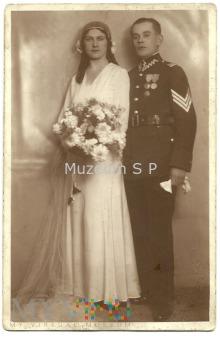 Duże zdjęcie Ślubne, plutonowy 4 Dywizjon ŻW Łódź