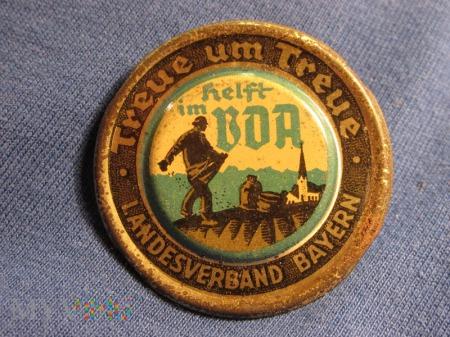 WHW-odznaka zbiórki dobroczynnej