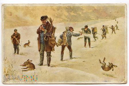 Anderle - Polowanie czy rzeź? - 1928