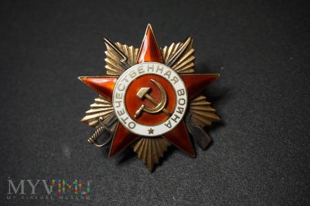 Order Wojny Ojczyznianej - I Klasy