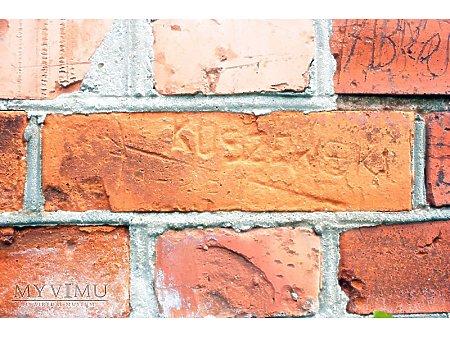"""Duże zdjęcie """"Stara Prochownia"""" - budynek A - inskrypcja #044"""