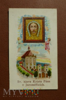 Św głowa Chrystusa Pana v Jaromericich