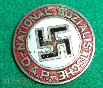 National-Sozialistische - D.A.P. odznaka