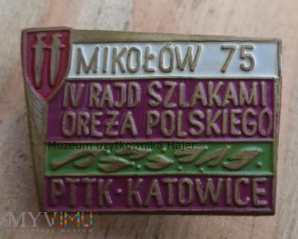 Szlakami Oręża Polskiego Mikołów 75 PTTK Katowice