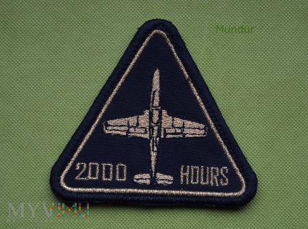 Oznaka 2000 wylatanych godzin