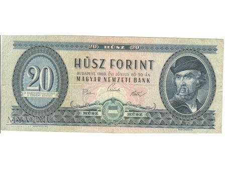 20 FORINT 1969